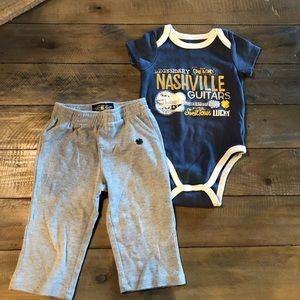 Lucky Brand boys 12m outfit